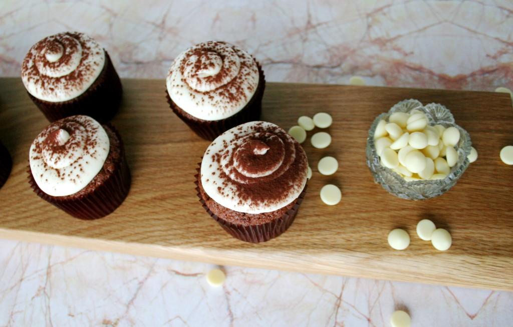 Cappuccino cupcakes à la Nigella - recipes