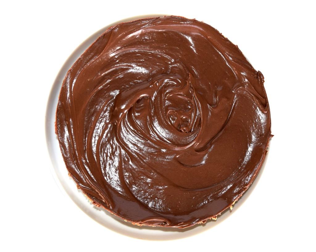 Nigella's Nutella Cheesecake - recipe  www.alltsaett.com