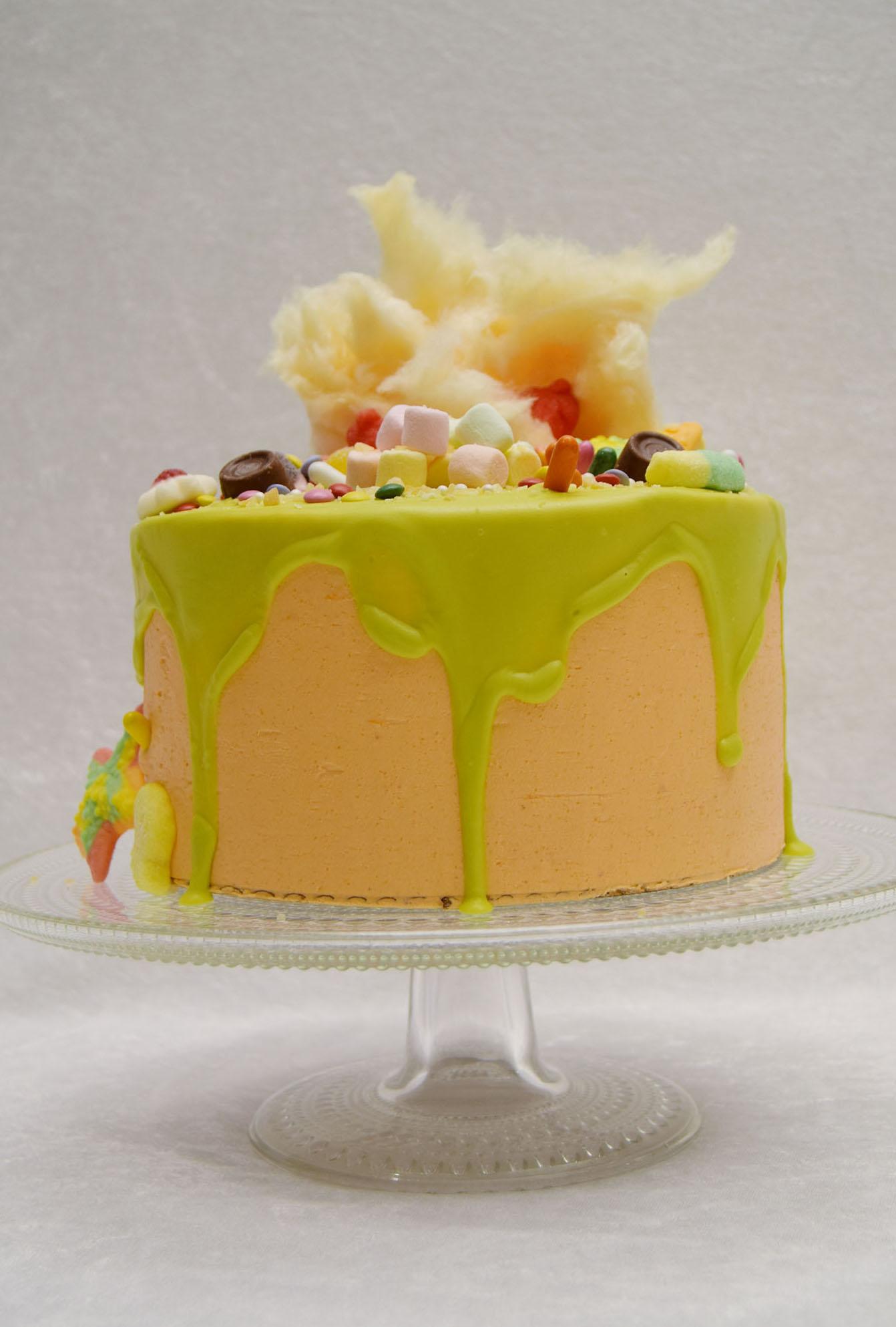 Candyland Vanilla Cake With Milka Chocolate Amp Orange