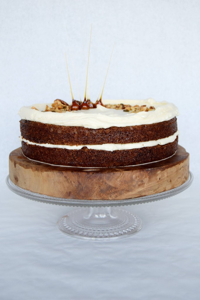 Carrot Cake with Cream Cheese Frosting - recipe