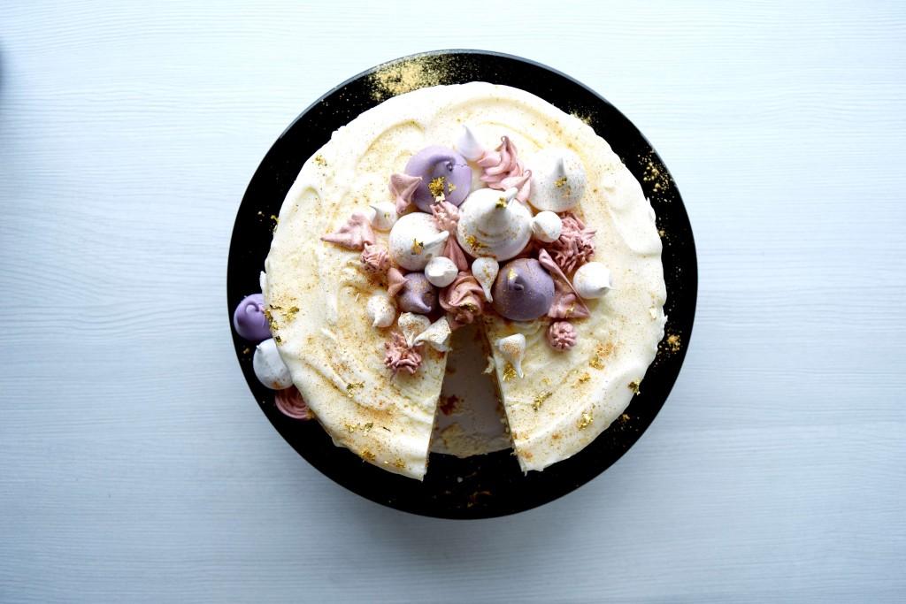 Vanilla cake - recipe www.alltsaett.com