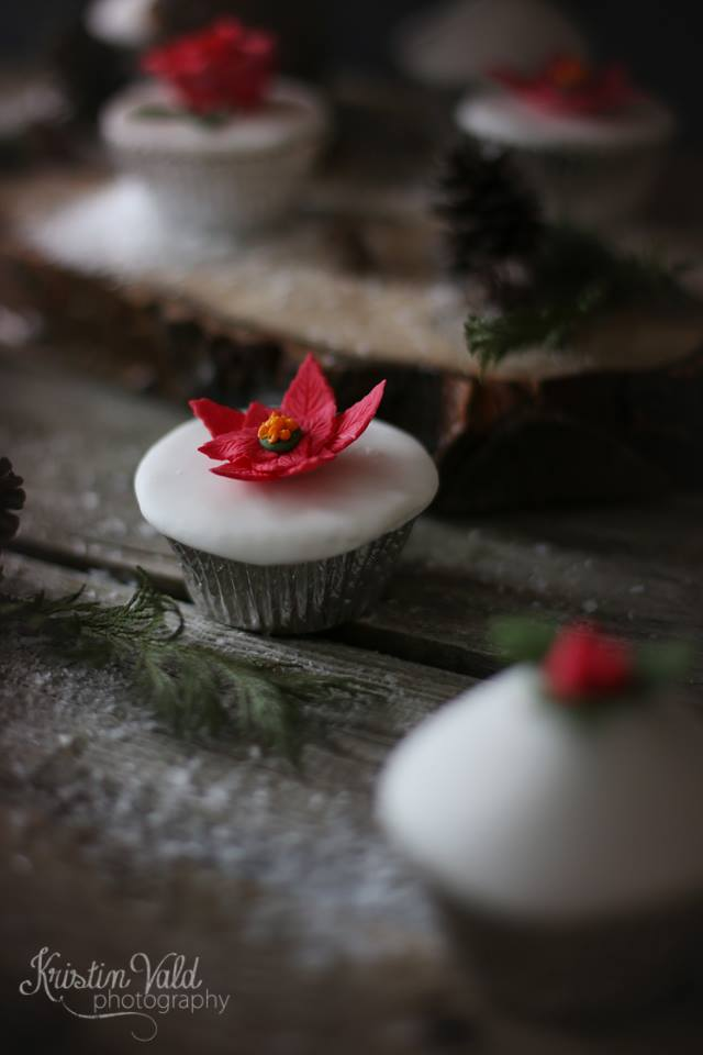 Beautiful pictures of my christmas cupcakes - Allt sætt