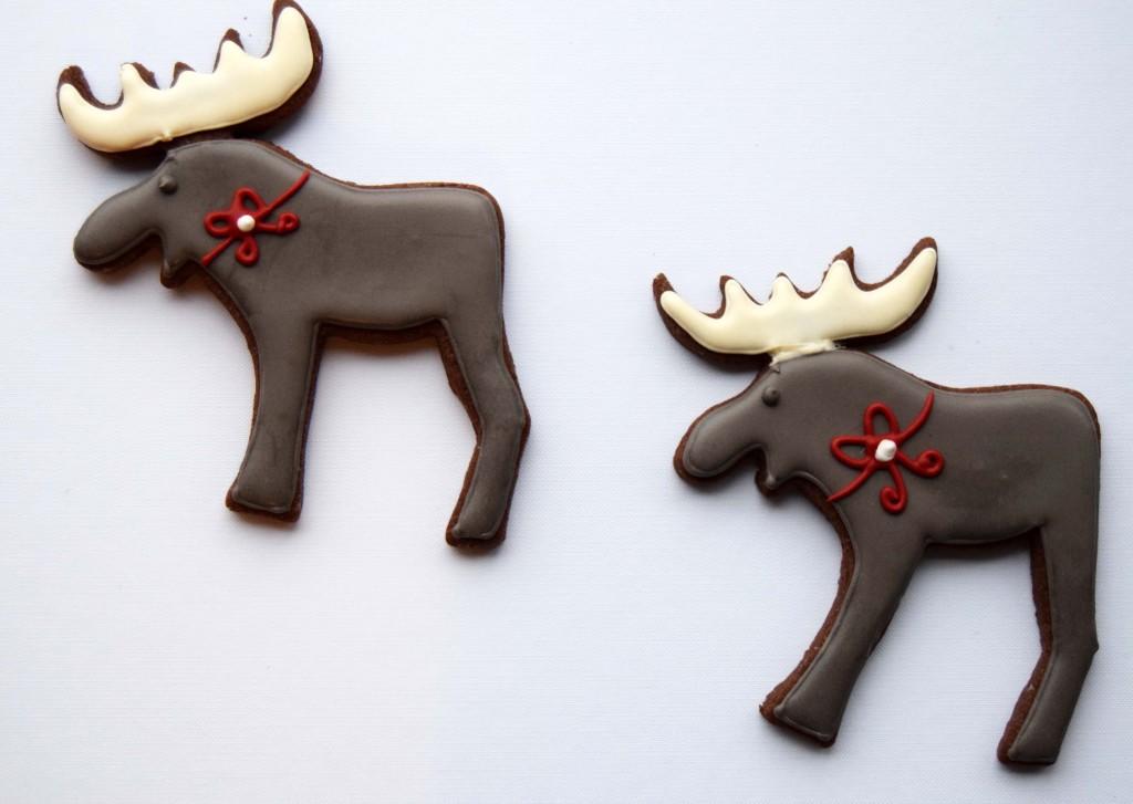 Chocolate sugar cookies - Allt sætt - Recipe