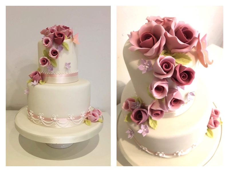 The cake that I made at the Peggy Porschen Academy